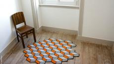 tapis de sol 3D original décoration intérieure design