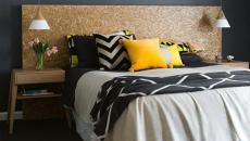 déco chambre tendance thème couleurs gris jaune