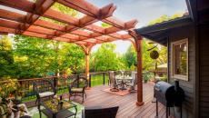 grande pergola design terrasse couverte