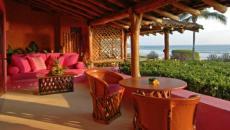 terrasse vue sur mer mexique
