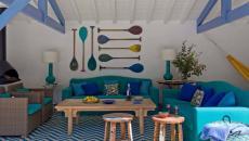 porche meuble salon villa de vacances biarritz