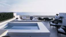 Le bassin de rafraichissement est l'option préférée par nombreux petits hôtels en Europe