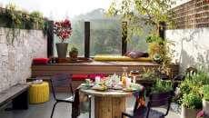 terrasse de ville logement citadin décoration idées