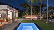 aménagement jardin propriété maison de vacances exotiques