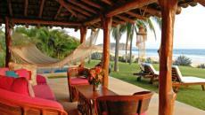 terrasse plage exotique