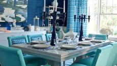 salle à manger thème déco table marin