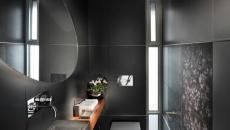 ameublement ambiance tamisée salle de bain moderne