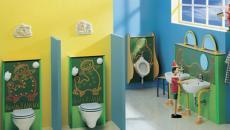 design salle de bain ludique