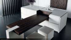 cuisine placards modernes blancs luxe artisanale design