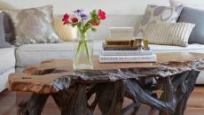 Original table de séjour en bois