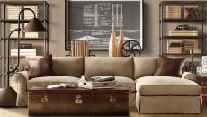 beige classique steampunk séjour