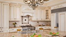 Ambiance et design rustique avec granit en cuisine