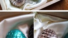 œufs dragon inspirés par game of thrones
