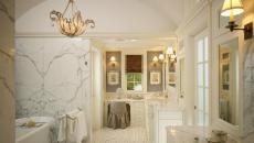 belle salle de bain design marbre unique