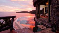 vacances romantiques exotiques Laucala complexe