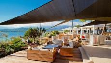 terrasse splendide sur la mer hotel porto-vecchio corse