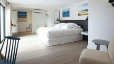 intérieur épuré luxe suite hotel