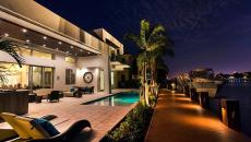 terrasse villa de vacances exotiques luxe