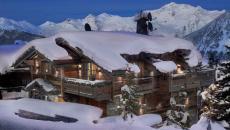 chalet de montagne alpes rustique