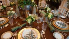 table de Noël déco vaisselle thématique