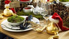 dresser jolie table repas de Noël