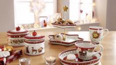 vaisselle déco dans l'esprit Noël
