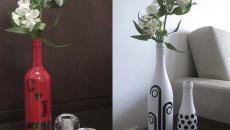 vase esthétique à faire soi même objet récup bouteilles