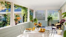 idée aménagement extérieur terrasse véranda
