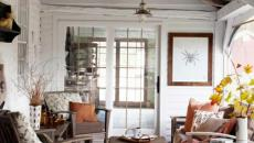 véranda extension maison en bois blanc