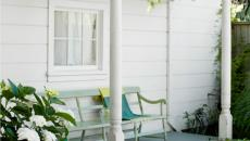 véranda porche simple devant maison