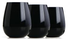 vaisselle verres noirs art de table déco Halloween