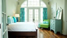 thème décoration chambre dans le turquoise
