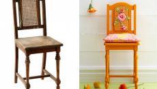 chaise ancienne remise au goût du jour