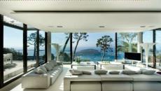 villa de luxe séjour lumineux