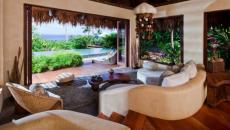 intérieur villa de luxe laucala complexe