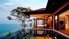 exotique piscine chambre avec vue villa de vacances