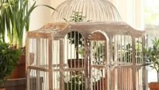ambiance rustique déco intérieur cages