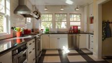 vinyle plastique revêtement sol de cuisine