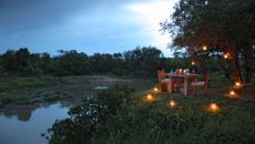 safari Kenya ambiance outdoor romantique