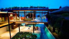 belle maison exotique vue mer