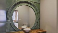 toilettes décorées modernes